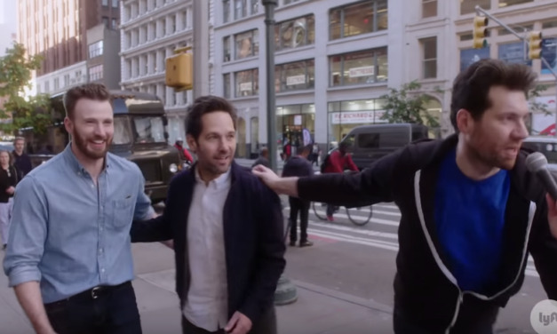 This BILLY ON THE STREET with Chris Evans and Paul Rudd Is Pure Joy