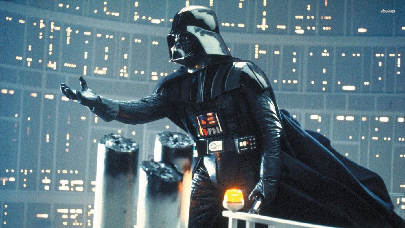 Still of Darth Vader
