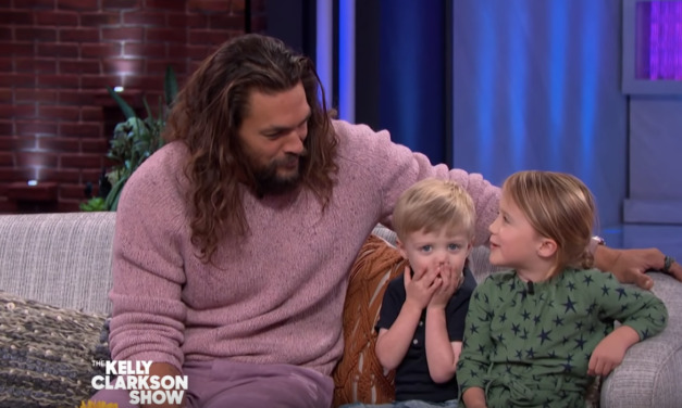Jason Momoa Taking Aquaman Questions from Kelly Clarkson's Starstruck Kids Will Melt Your Heart