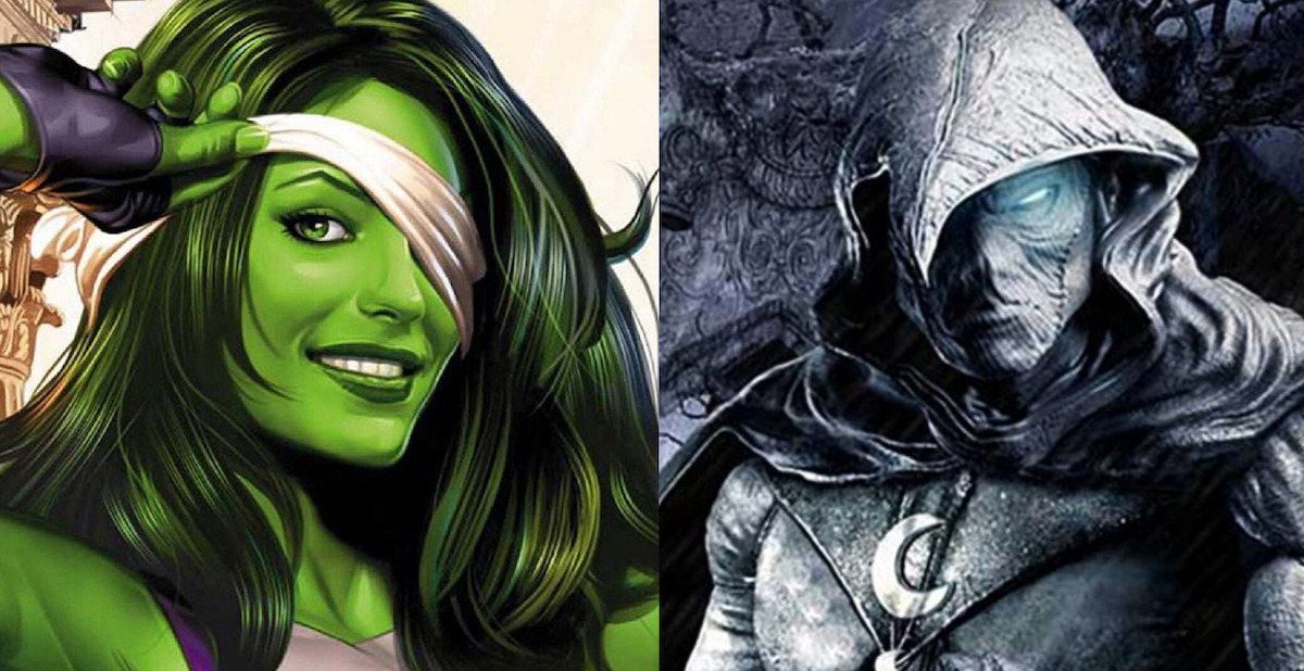 Disney+, Marvel Series' SHE-HULK and MOON KNIGHT Get Their Leaders