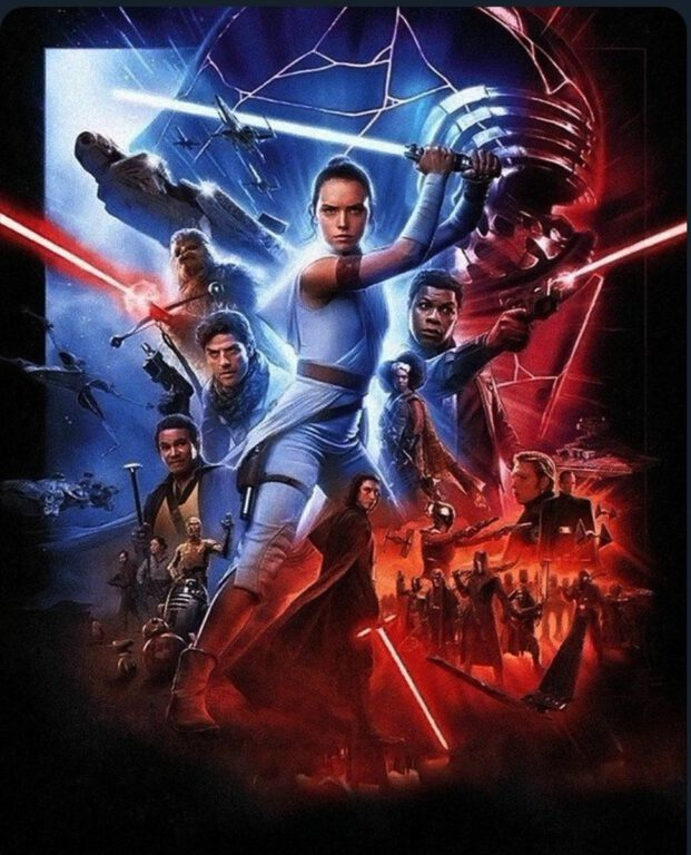 rise of skywalker international poster