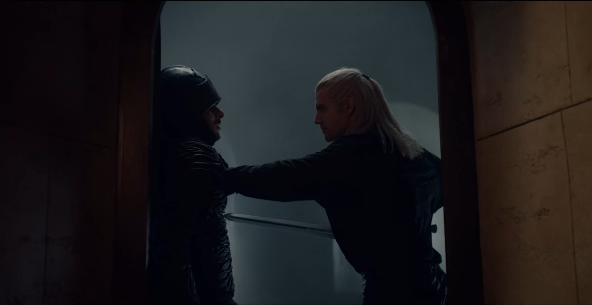 Geralt attempts in vain to find Ciri after the Slaughter of Cintra in The Witcher
