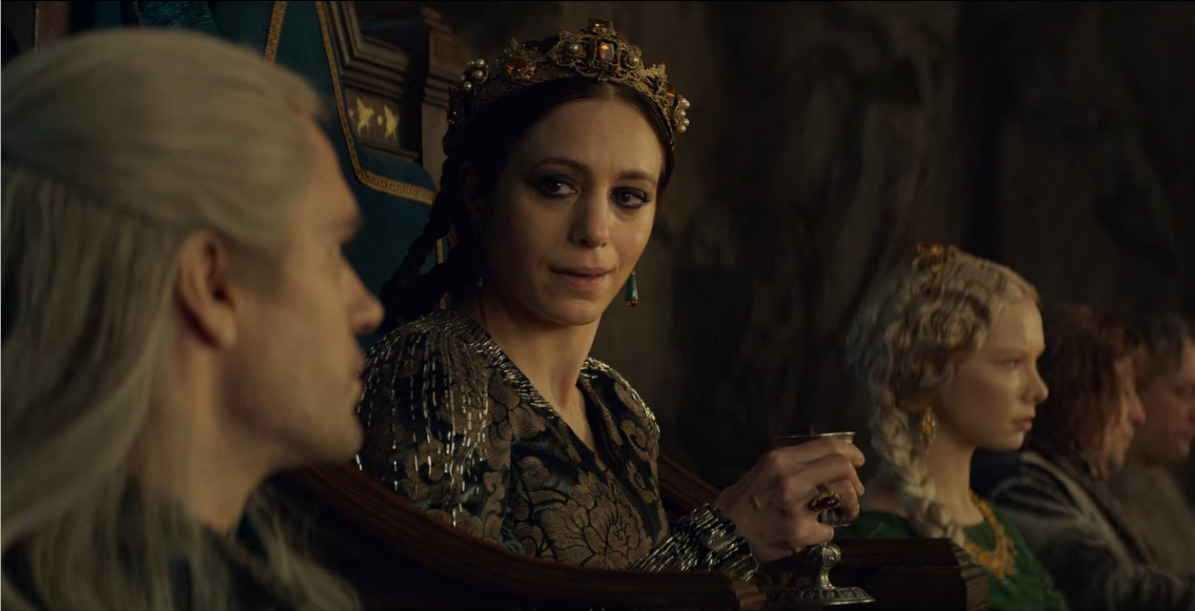 Queen Calanthe in The Witcher