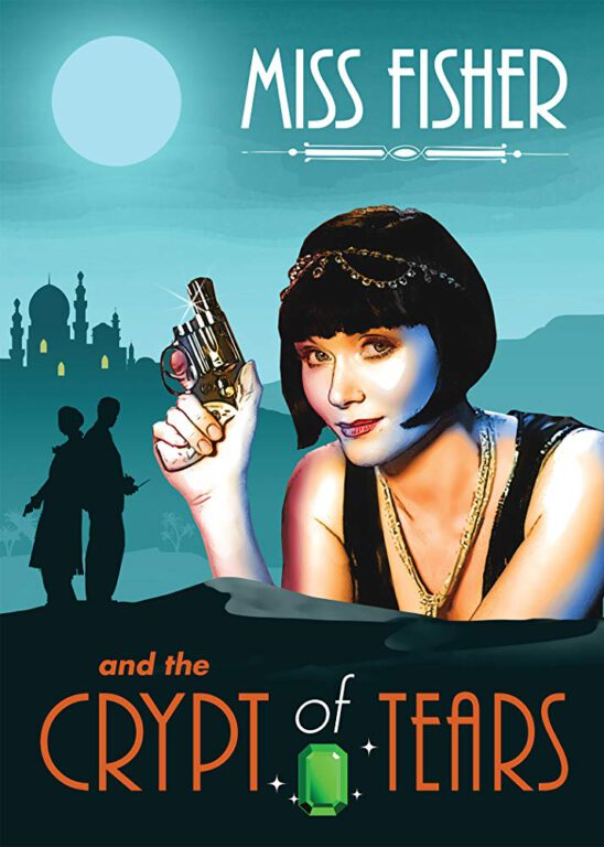 The poster for Miss Fisher & The Crypt of Tears