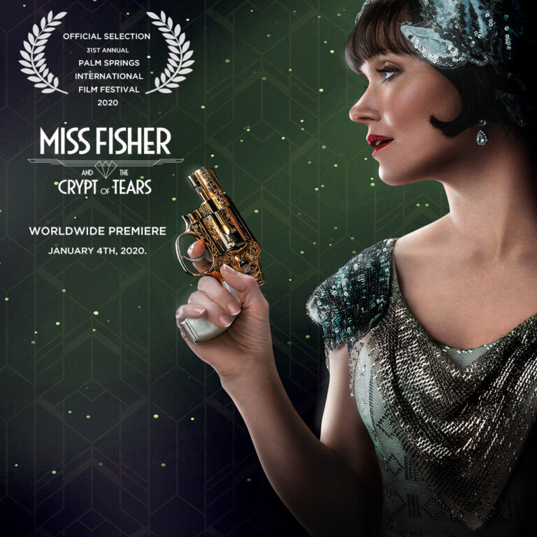 Miss Fisher and the Crypt of Tears to have its World Premiere at the Palm Springs International Film Festival!