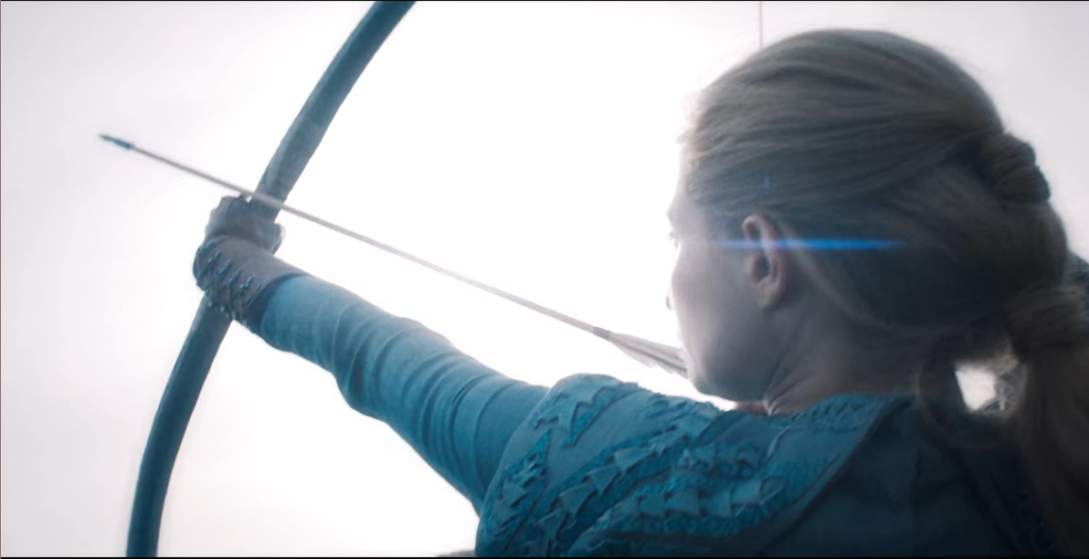 In the Witcher Sabrina Glevissig commands the refugee slings and archers in the defense of Sodden Hill.