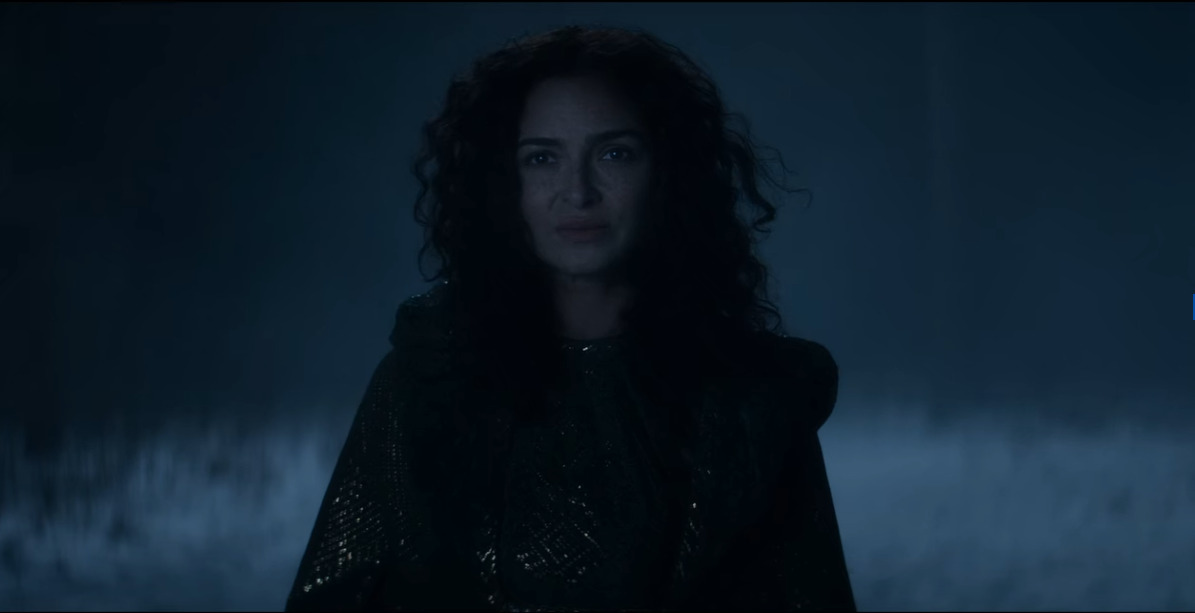 anna shaffer as triss merigold in the witcher