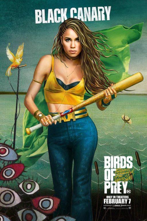 black canary birds of prey