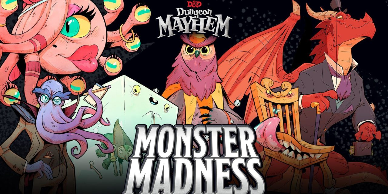DUNGEON MAYHEM Is Being Overrun by Monsters!