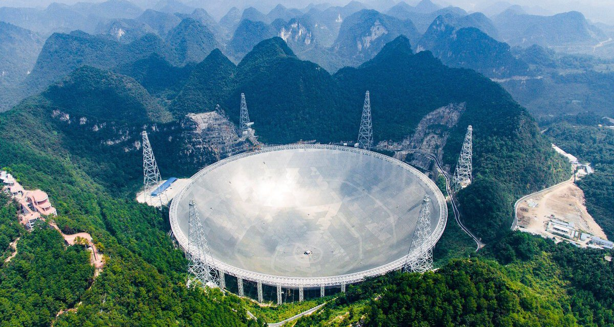 China's Enormous Alien Hunter Radio Telescope Is Up and Running