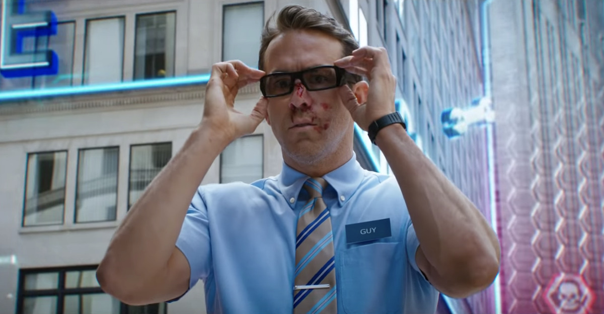 FREE GUY Trailer Is Full of Ryan Reynolds Being Delightfully Ryan Reynolds