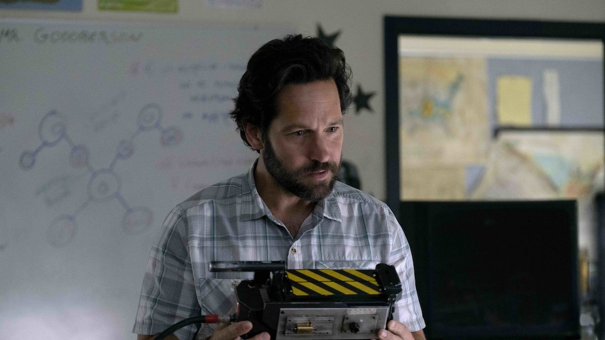 Paul Rudd in Ghostbusters after life
