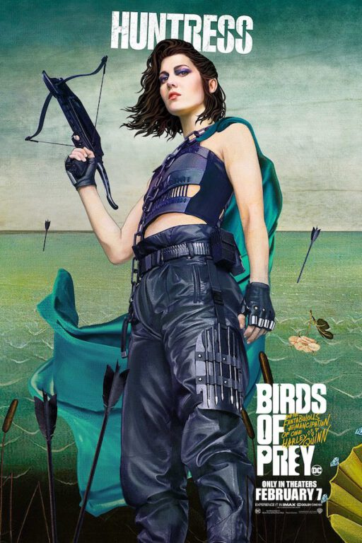 huntress birds of prey