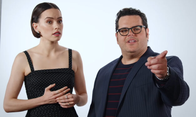 ICYMI: Josh Gad Enlists Friends to Get Daisy Ridley to Dish on THE RISE OF SKYWALKER