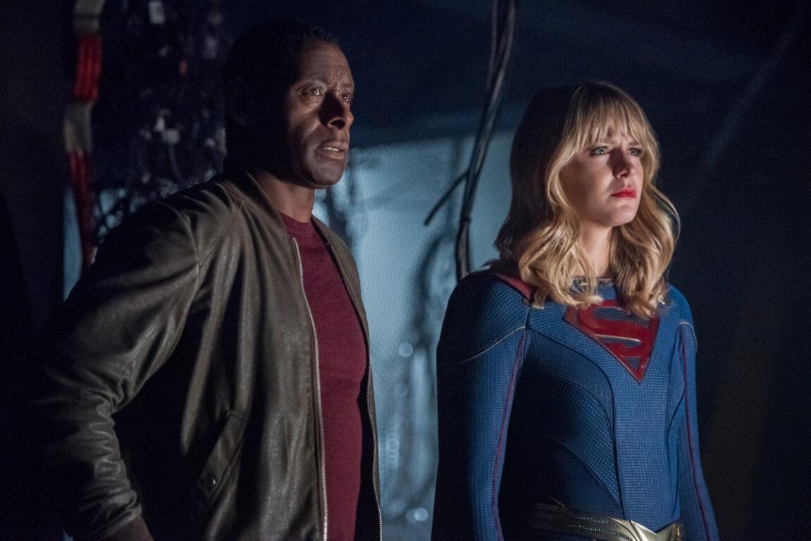 J'onn advises Supergirl on Crisis on Infinite Earths