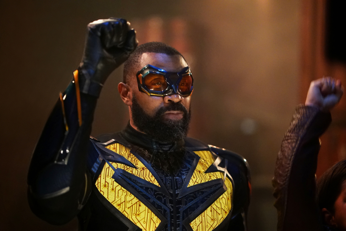 Black Lightning adjusts to life in the Arrowverse