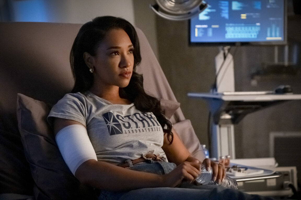 Post Crisis, Iris finds herself in danger on The Flash