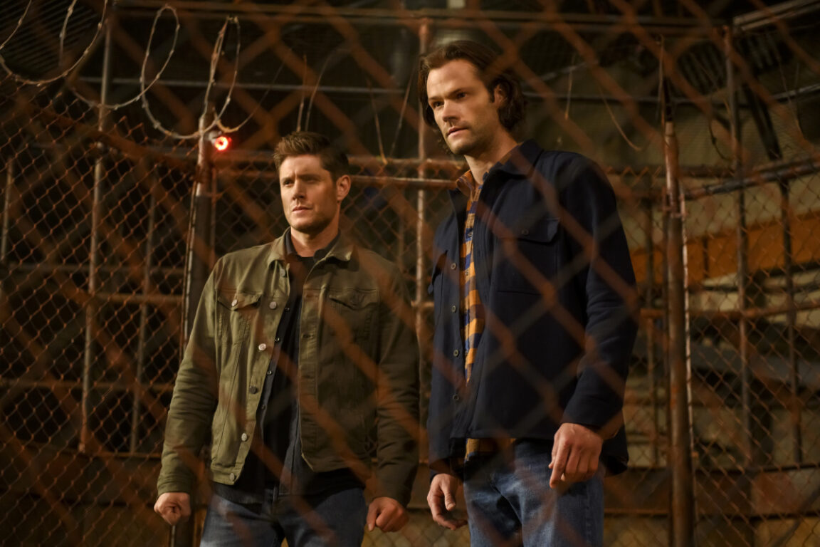 Sam and Dean enter the ring in Supernatural
