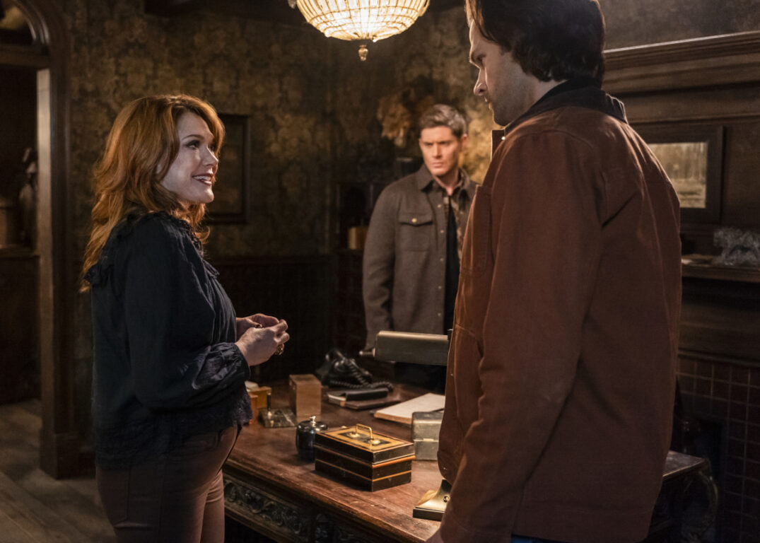 The Winchesters make a deal with the Goddess of Luck on Supernatural
