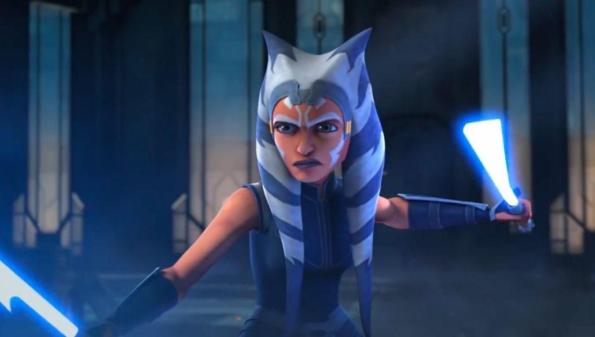 Still of Ashoka Tano in Star Wars: The Clone Wars