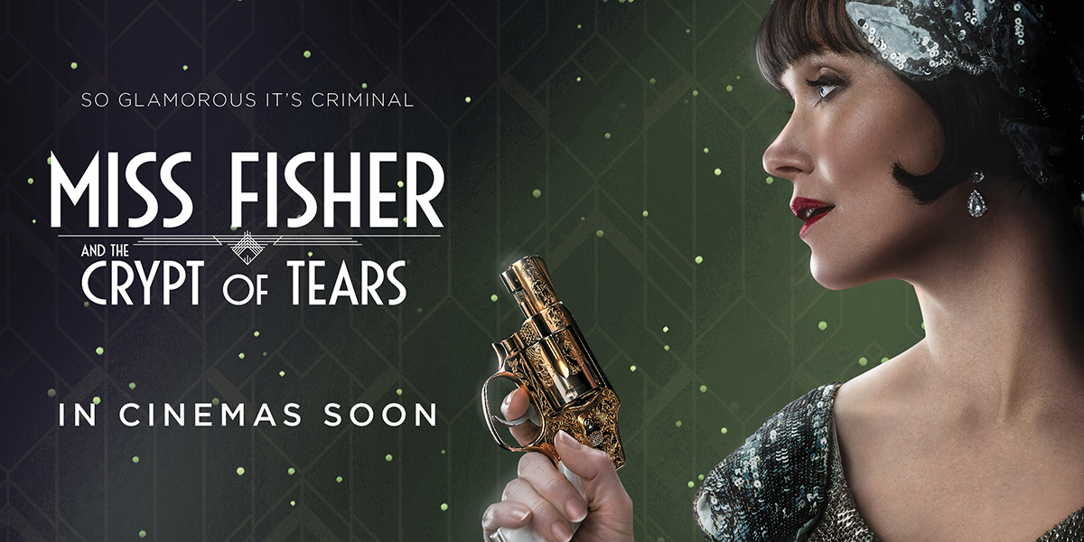 Trailer for MISS FISHER & THE CRYPT OF TEARS Now Viewable in the US!