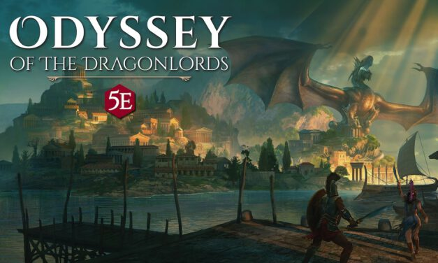 Make Your Own Myths with ODYSSEY OF THE DRAGONLORDS