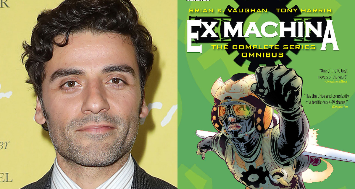 Oscar Isaac Set to Star and Produce The Great Machine, an Adaptation of Brian K. Vaughan's Ex Machina