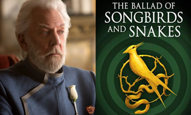 First Excerpt of THE BALLAD OF SONGBIRDS AND SNAKES Introduces a Younger Snow
