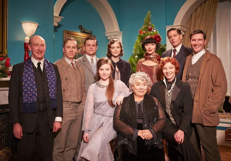 The cast of Miss Fisher's Murder Mysteries