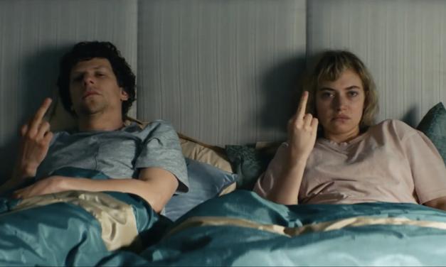 Imogen Poots and Jesse Eisenberg Go House Hunting in VIVARIUM Trailer