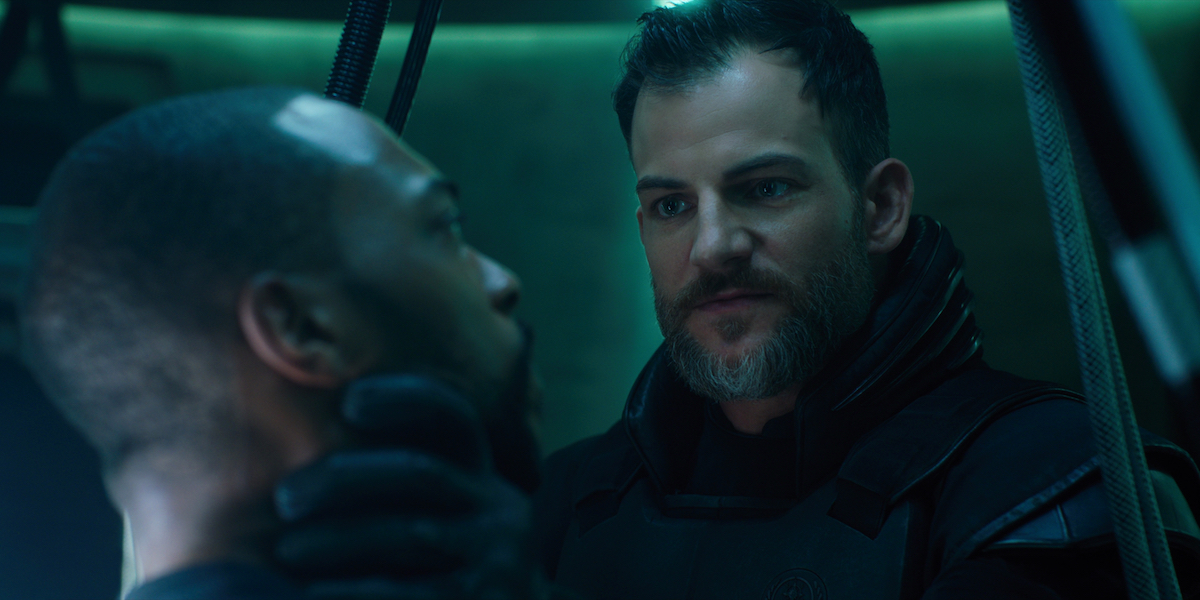altered carbon production still with anthony mackie