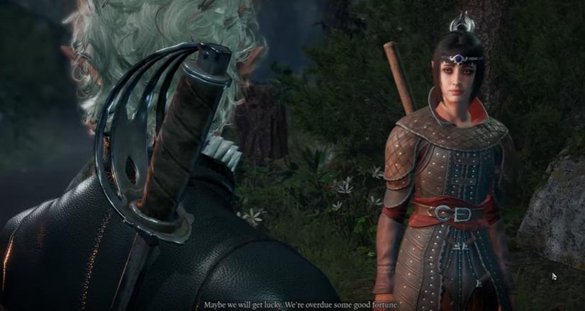 Companion interactions in Baldur's Gate III