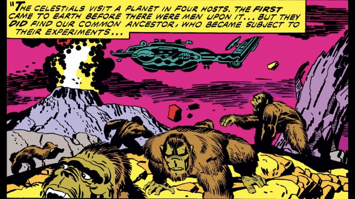 celestial experiment comic