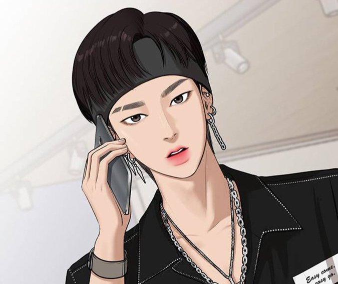 Seojun from True Beauty Webtoon