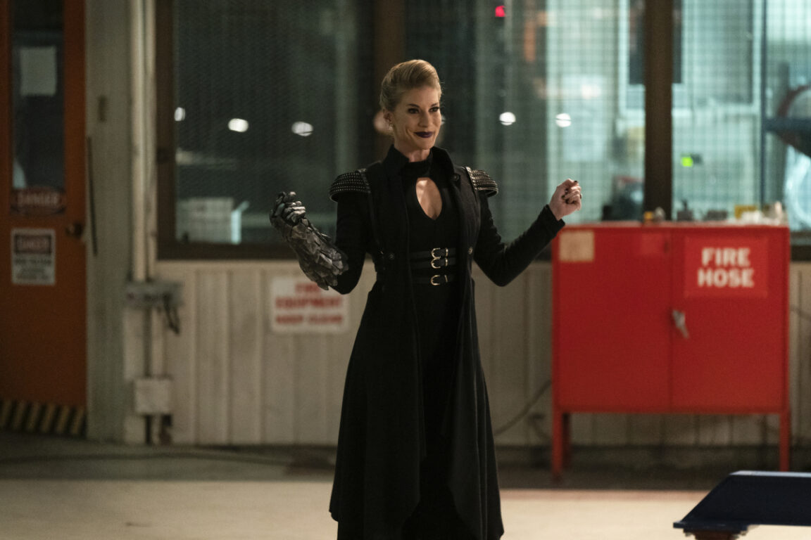 Guest star Katee Sackhoff returns as Amunet Black on The Flash