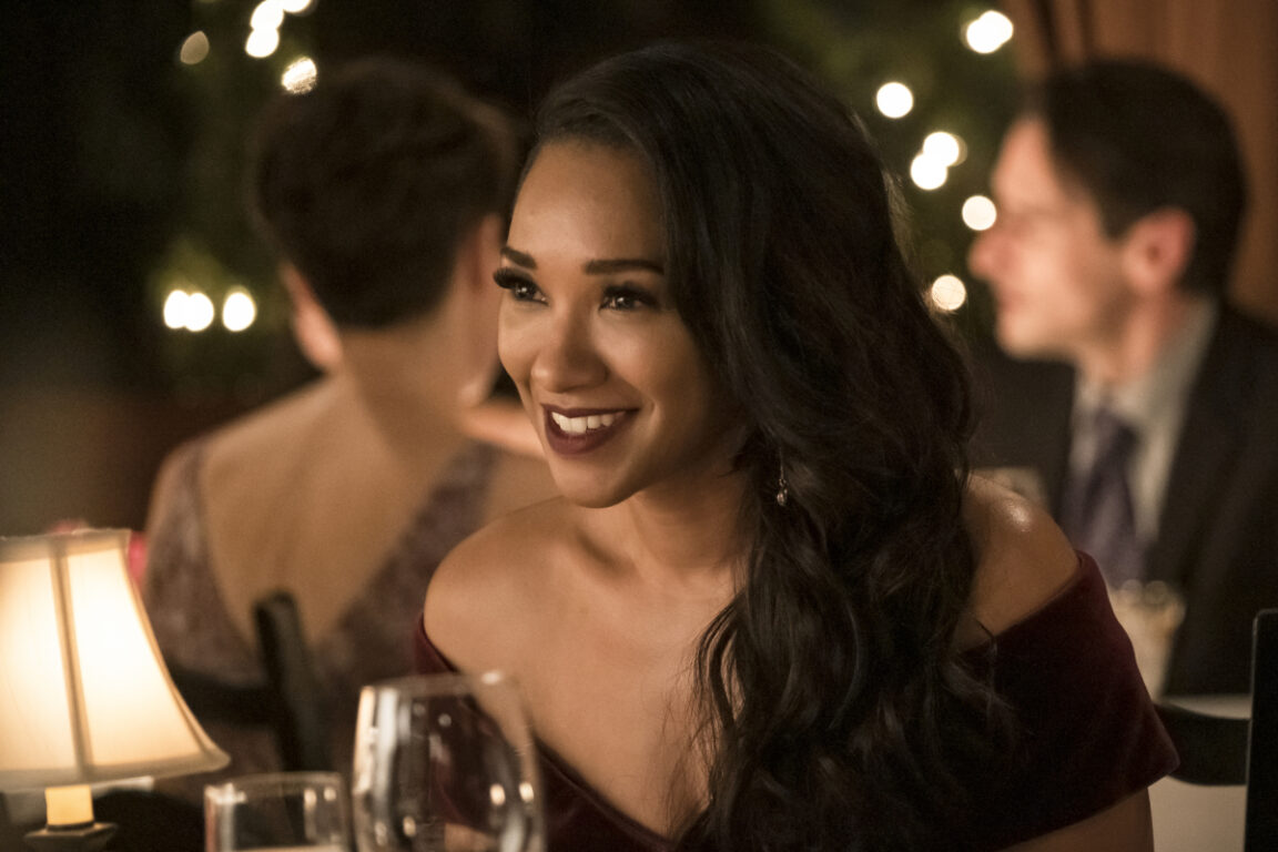 There's something different about Iris West-Allen on The Flash