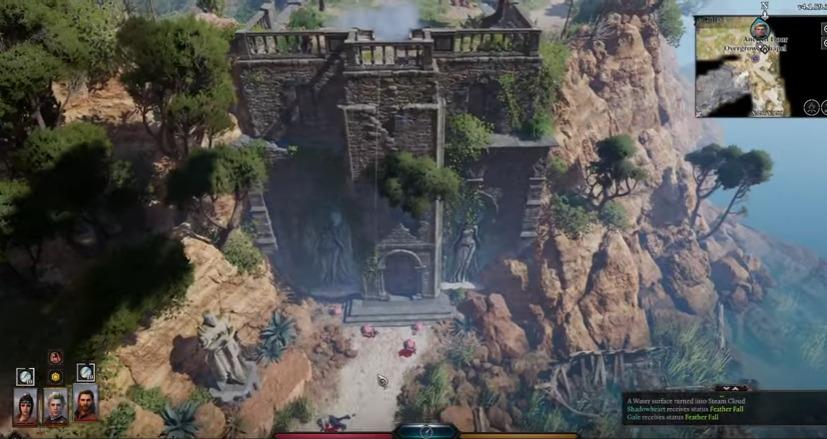 Environmental interactions in Baldur's Gate III