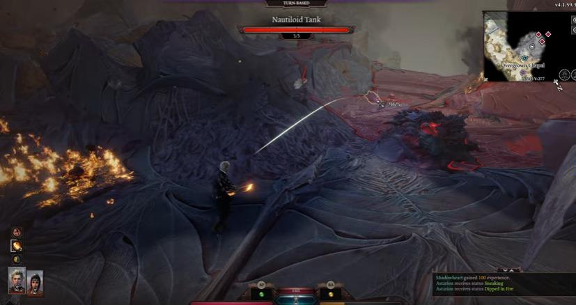Turn-based mode in Baldur's Gate III