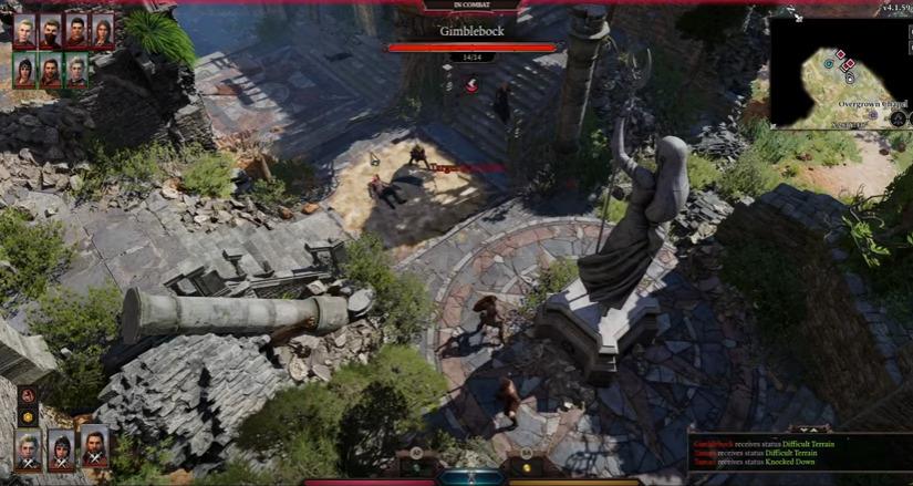Combat in Baldur's Gate III