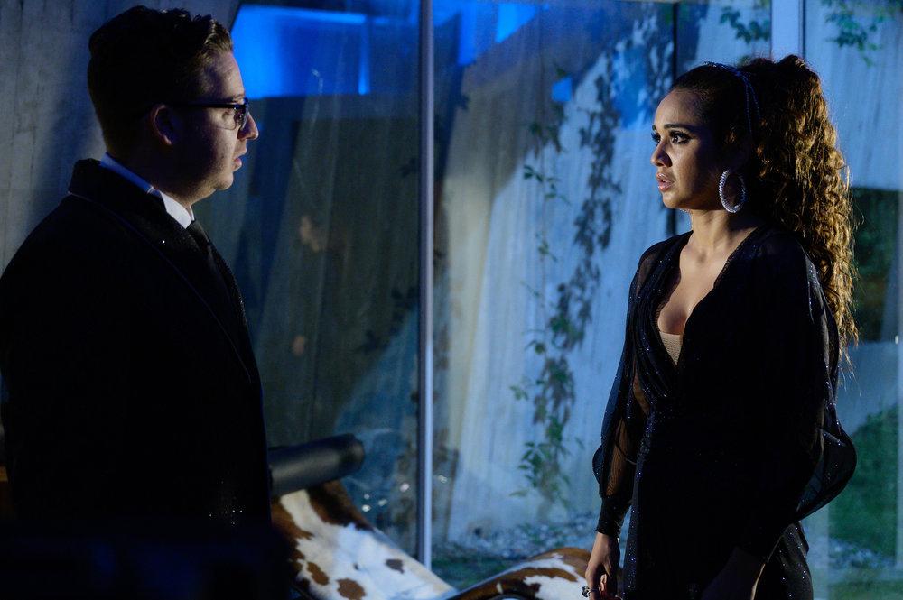 Trevor Einhorn as Josh and Summer Bishil as Margo on The Magicians.
