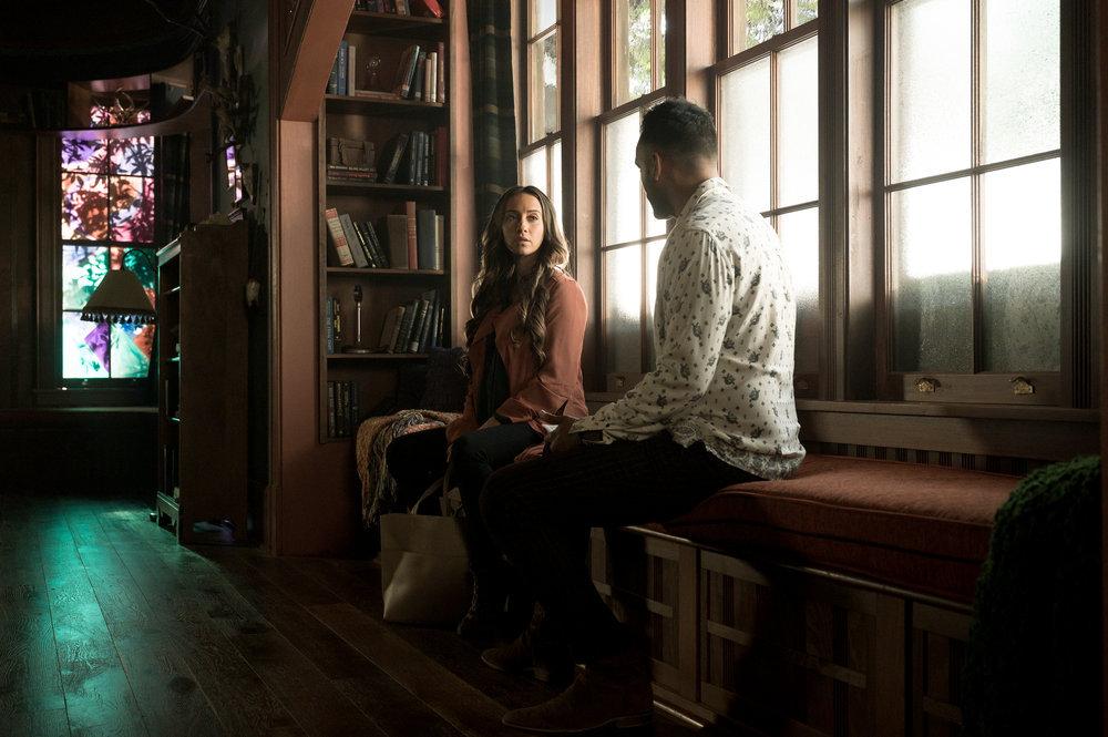 Stella Maeve and Arjun Gupta