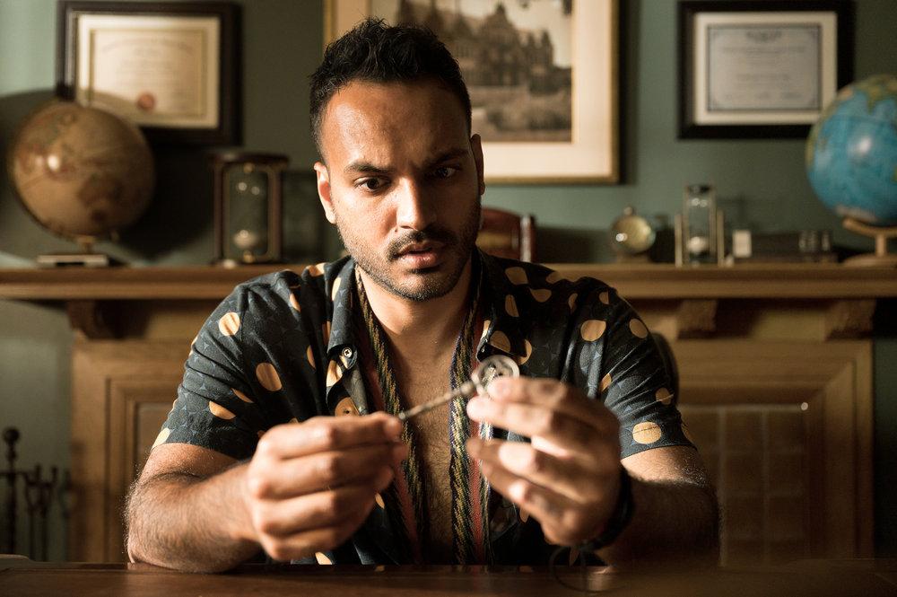 Arjun Gupta in The Magicians