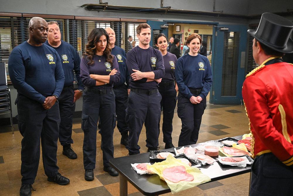 The squad in Brooklyn Nine-Nine