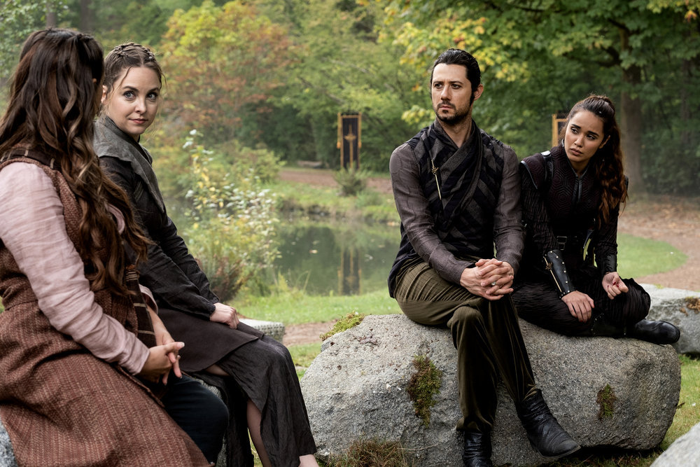 Still of the cast of The Magicians.