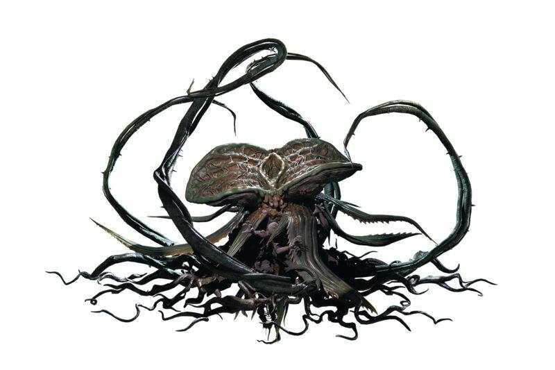 Alex Wesker's bioweapon Yateveo, a man eating plant.
