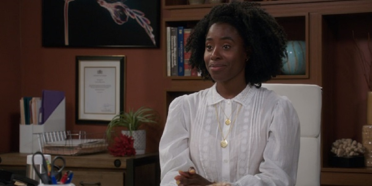 Still of Kirby Howell-Baptiste in The Good Place