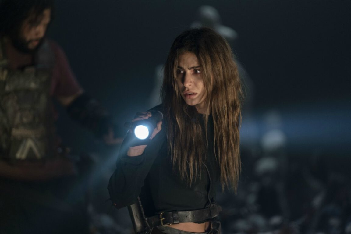 Magna is desperate to find a way out on The Walking Dead