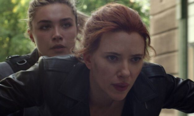 See Scarlett Johansson in Action With BLACK WIDOW BTS Photo