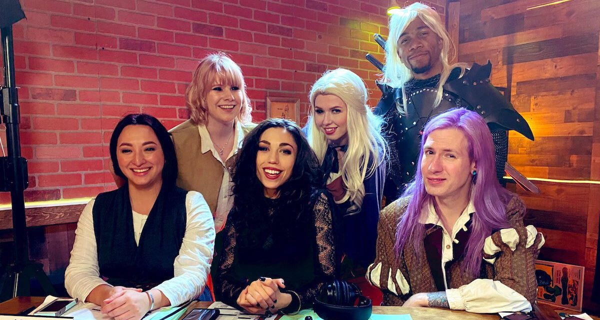 Hyper RPG Brings THE WITCHER TABLETOP RPG to Life in a Four Part Series