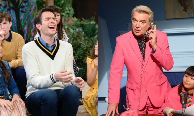 John Mulaney to Host SNL with SACK LUNCH BUNCH Co-Star (and Rock God) David Byrne as Musical Guest